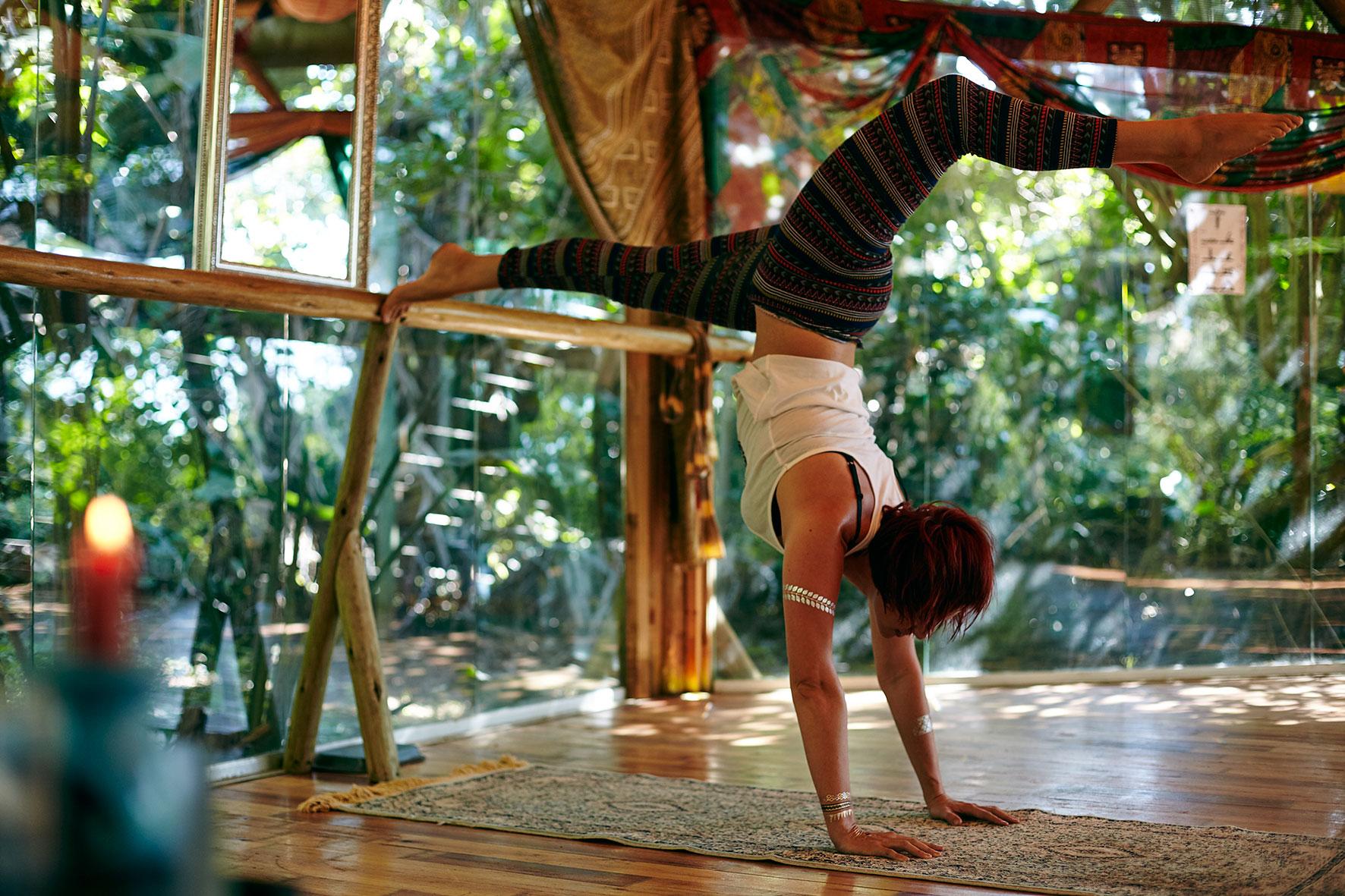 Handstands Ballet Barre
