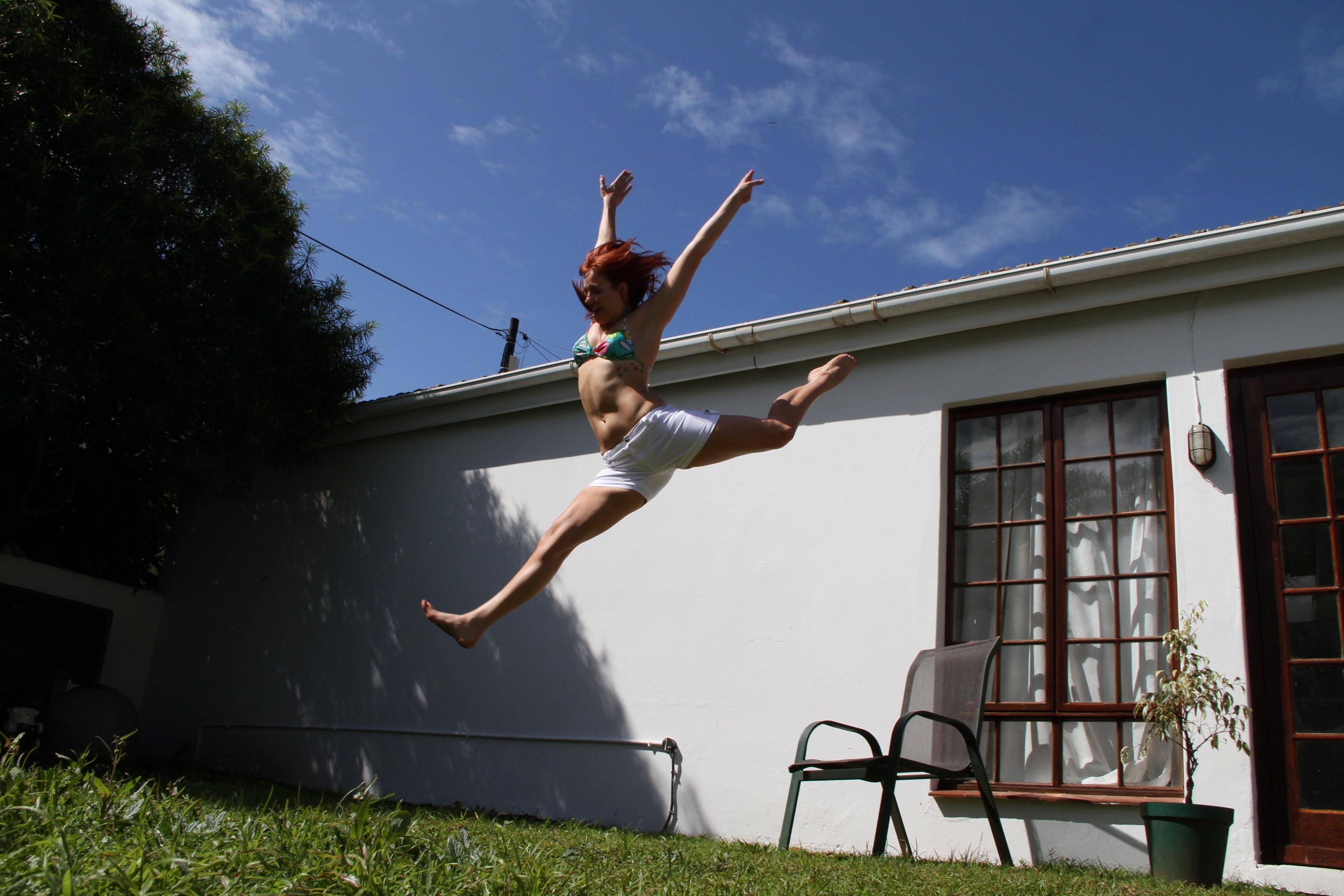 yoga jump be free