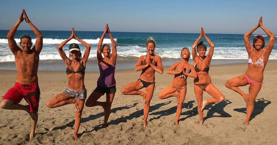 beach yoga yoga retreat