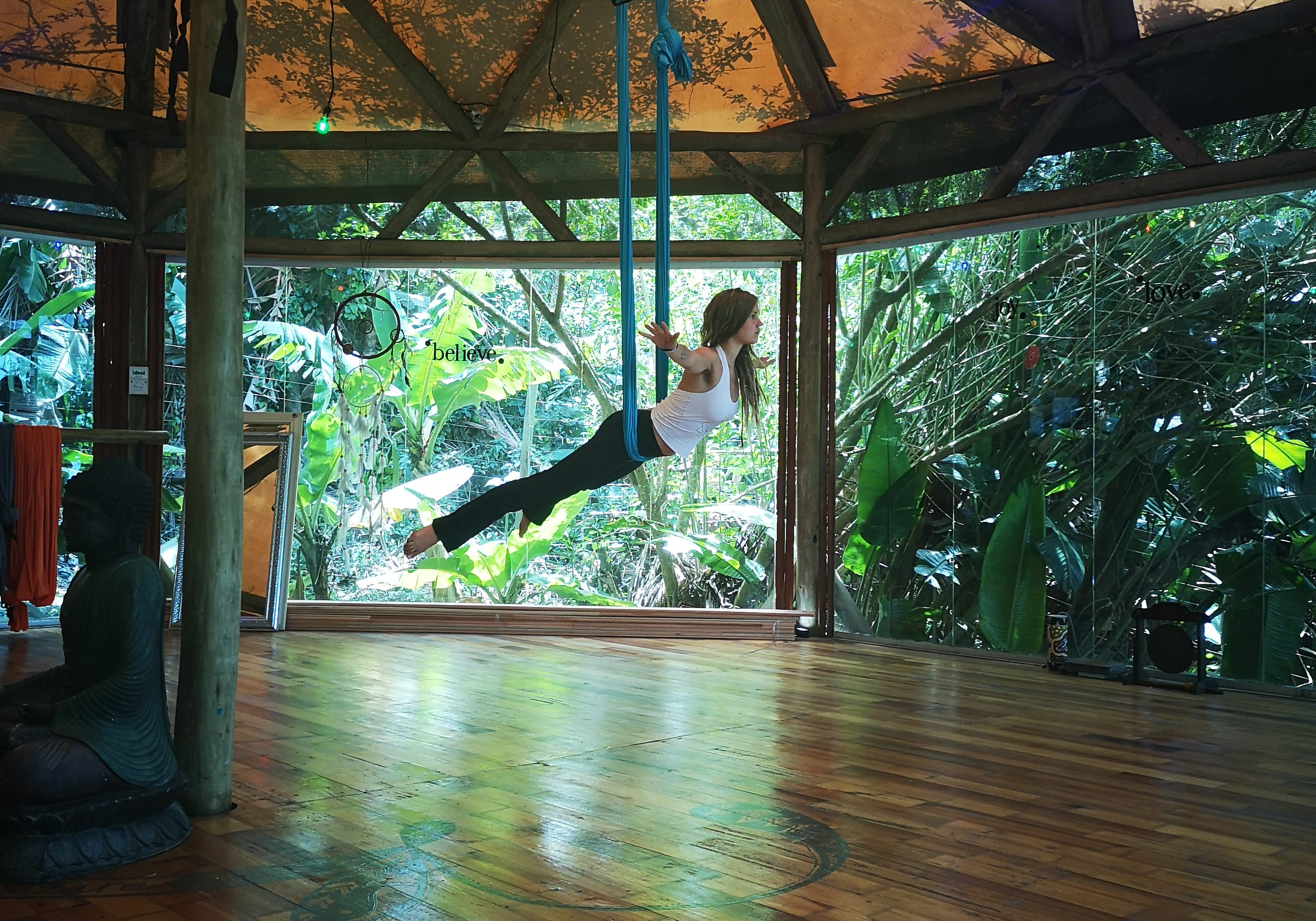 aerial yoga aerial to zen yoga retreat
